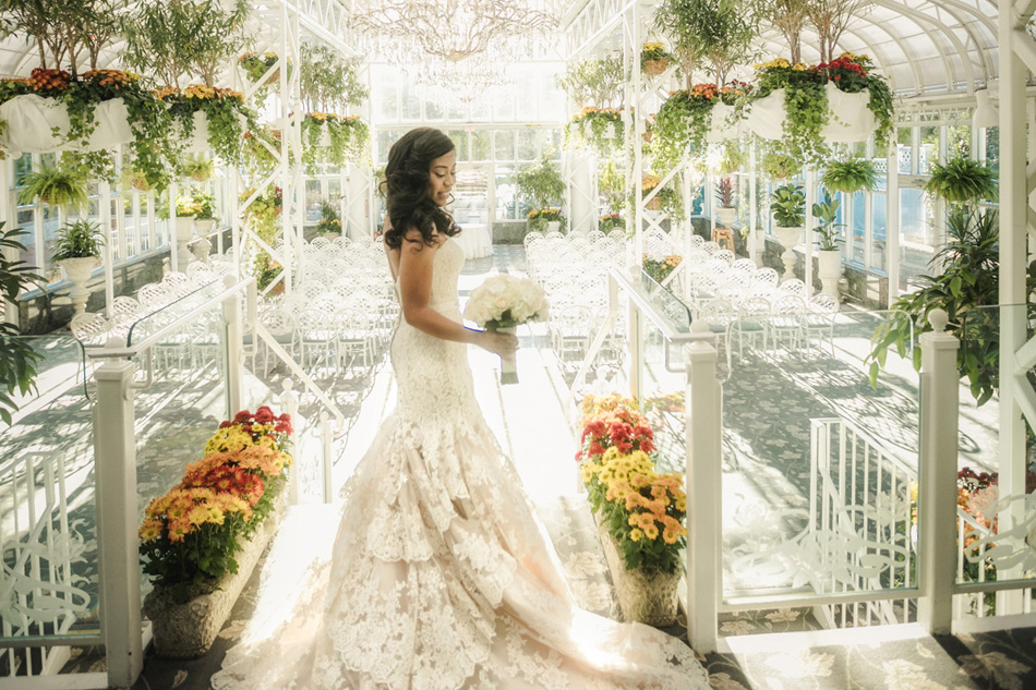 Bride at The Madison Hotel