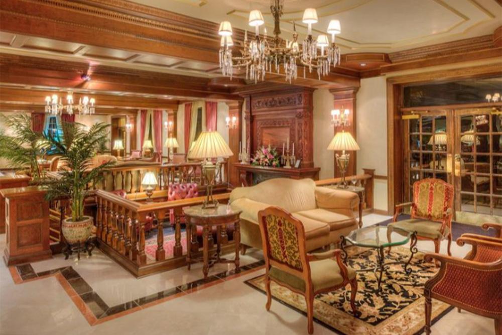 Lobby at The Madison Hotel