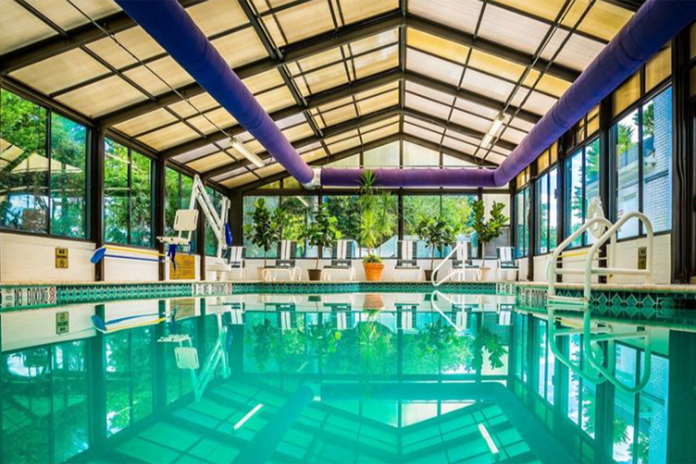 Indoor Pool at The Madison Hotel