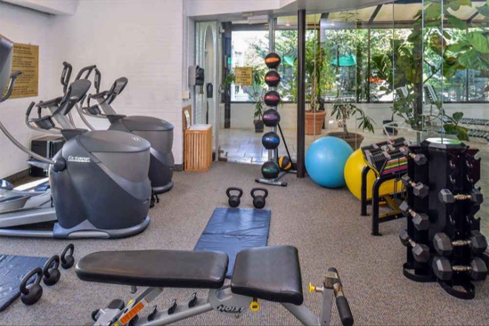 Fitness Room at The Madison Hotel