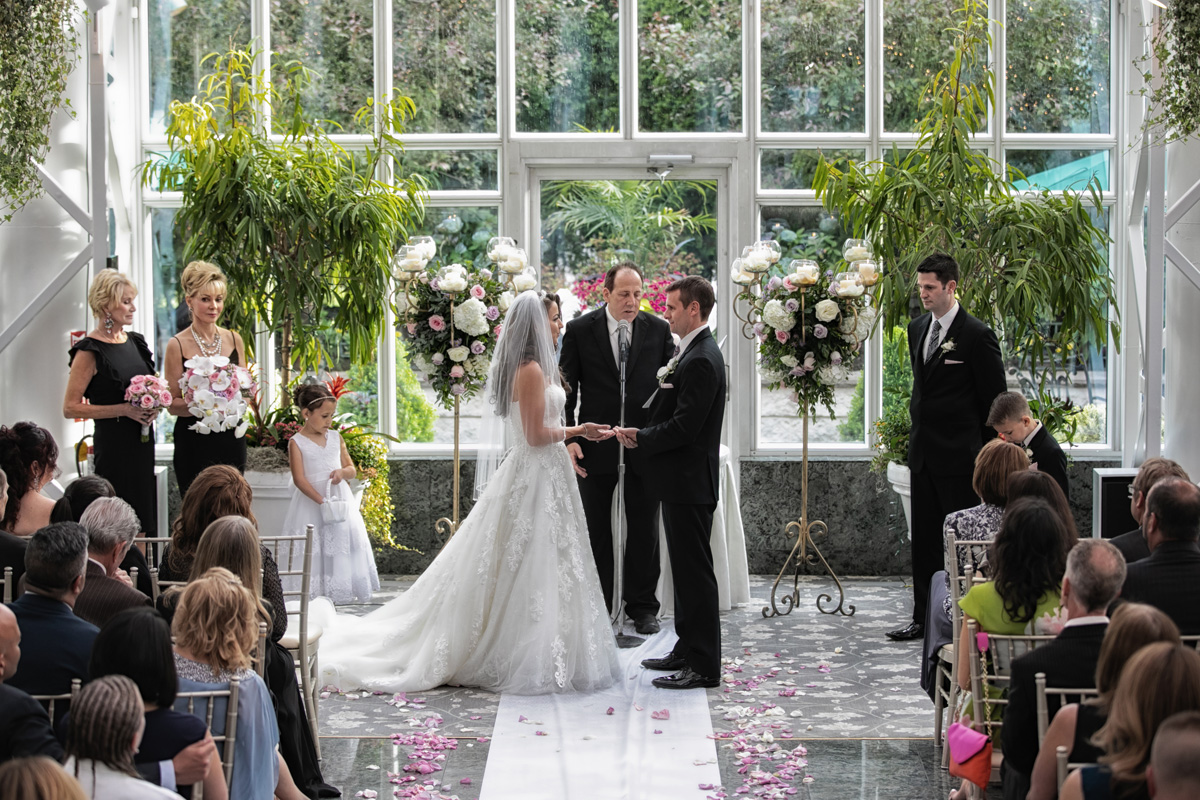 Wedding Vows at The Madison Hotel